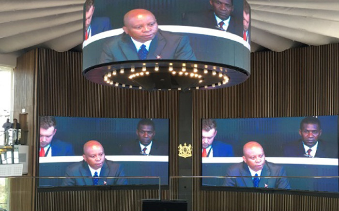 FILE: Johannesburg Mayor Herman Mashaba delivers his first State of the City Address. Picture: Twitter/@HermanMashaba.