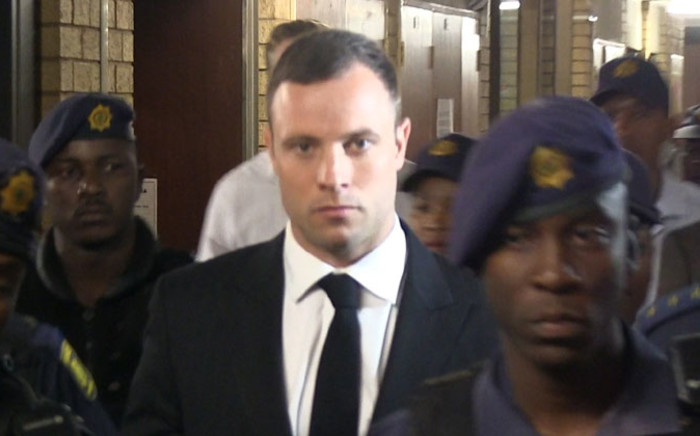 Pistorius will swap a cold-walled hail cell for his uncle Arnold's plush mansion in the Waterkloof area. Picture: Christa Eybers/EWN.