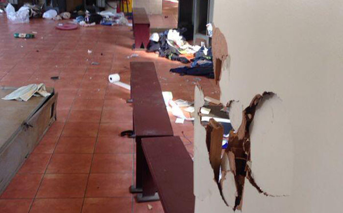 The Numsa strike was plagued by reports of vandalism. Picture: Twitter.