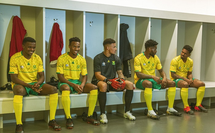 The national men's soccer team has a new kit sponsor in le coq sportif, which has unveiled the team's latest edition. Picture: Bafana Bafana.