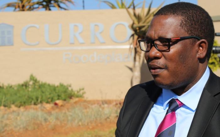 FILE: Gauteng Education MEC Panyaza Lesufi outside the Curro Roodeplaat school on 18 June 2015. Picture: Reinart Toerien/EWN.