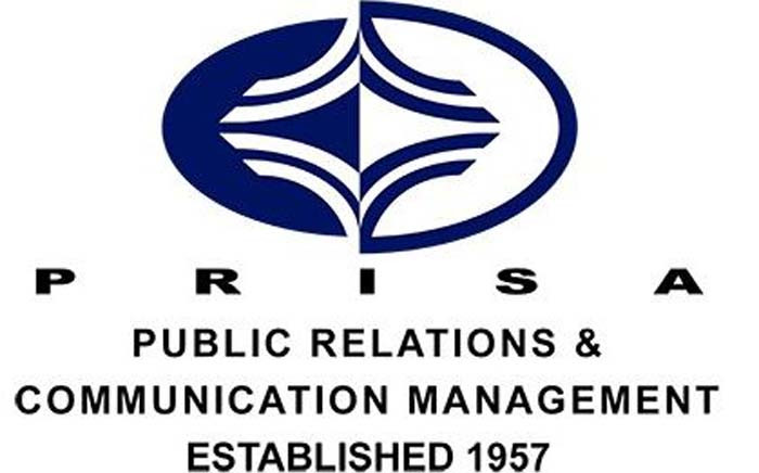 The Public Relations Institute of South Africa logo. Picture: Prisa.co.za