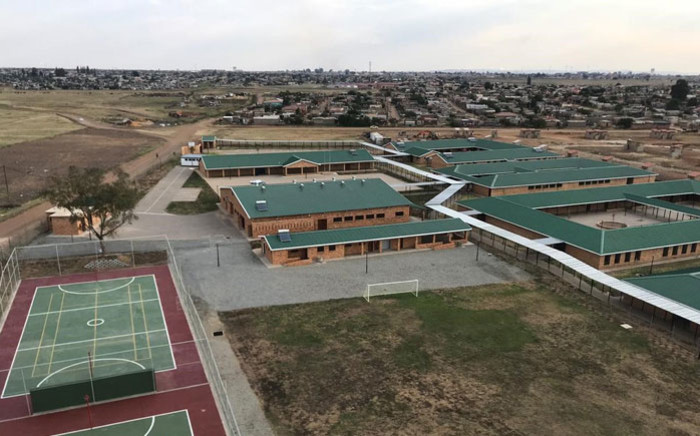 The new Menzi Primary School in Tsakane, Ekurhuleni, Gauteng. Picture: @GPDID/Twitter