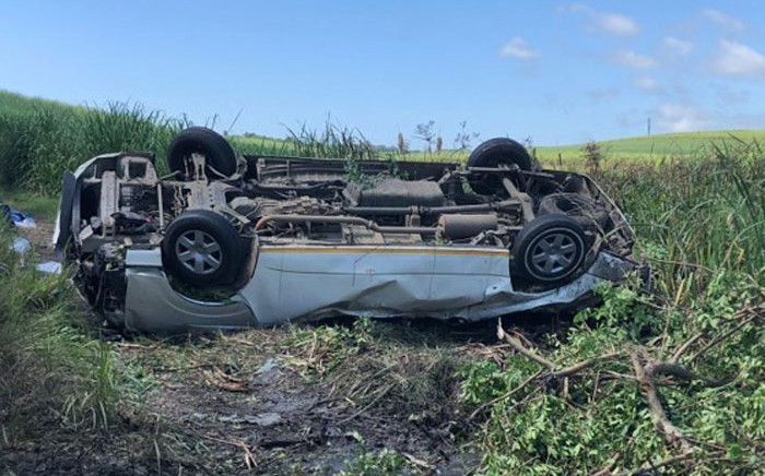 Seven people have been killed in a crash on the R102 in Umhlali, north of Durban. Picture: IPSS Medical Rescue