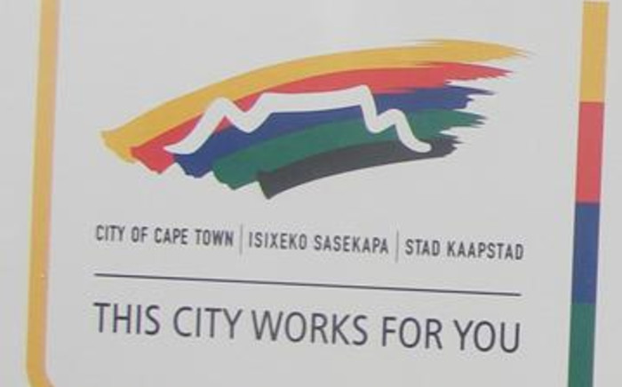 A City of Cape Town logo. Picture: Danya Philander/Eyewitness News