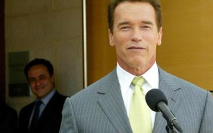 FILE: Actor and former California governor Arnold Schwarzenegger. AFP
