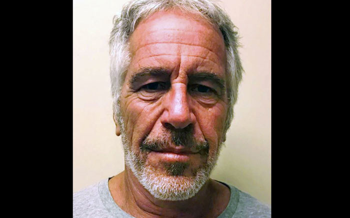 In this file, undated handout photo obtained 11 July 2019 courtesy of the New York State Sex Offender Registry shows Jeffrey Epstein. The US billionaire was accused of sexually assaulting underage girls. Picture: AFP