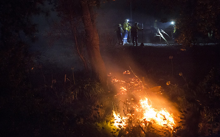 FILE: Close to two hundred firefighters have been deployed to the area. Picture: Aletta Gardner/EWN