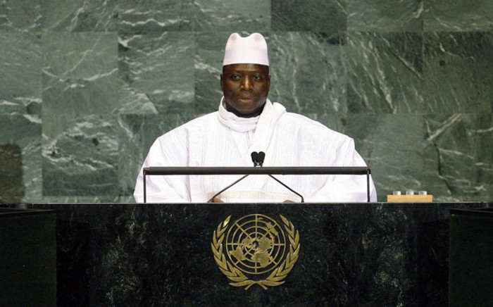 FILE: President of Gambia Yahya Jammeh. Picture: United Nations.