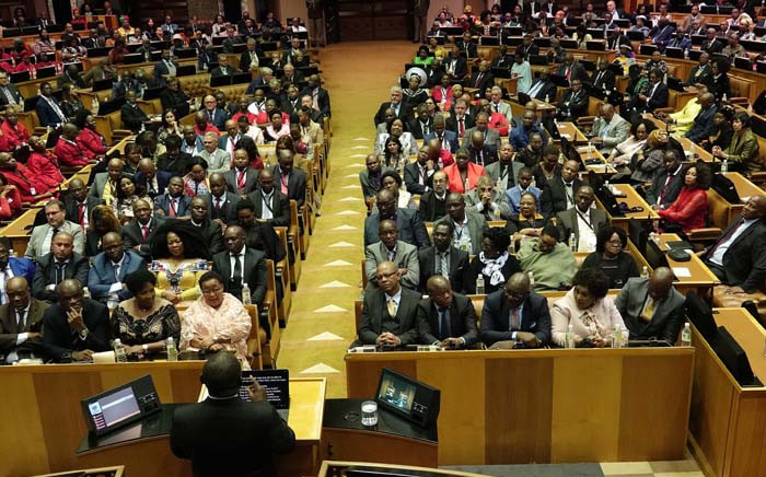 President Cyril Ramaphosa delivers the State of the Nation Address on 20 June 2019. Picture: GCIS