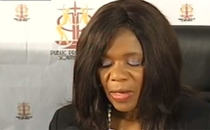 The Public Protector Thuli Madonsela releases the findings about Nkandla homestead during a press conference in Pretoria on 19 March 2014.