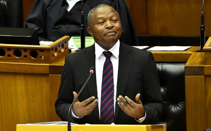 FILE: Deputy President David Mabuza answers questions in Parliament. Picture: GCIS