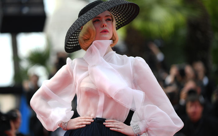 US actress and member of the jury of the Cannes Film Festival Elle Fanning poses as she arrives for the screening of the film 'Once Upon a Time... in Hollywood' at the 72nd edition of the Cannes Film Festival in Cannes, southern France, on 21 May 2019. Picture: AFP