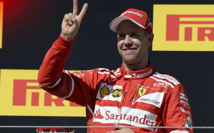 Ferrari's German driver Sebastian Vettel. Picture: @ScuderiaFerrari/Twitter