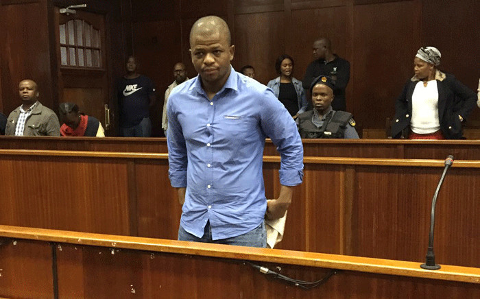 Convicted murderer Thembinkosi Ngcobo in the Durban High Court on 28 February 2020. Picture: Nkosikhona Duma/EWN.