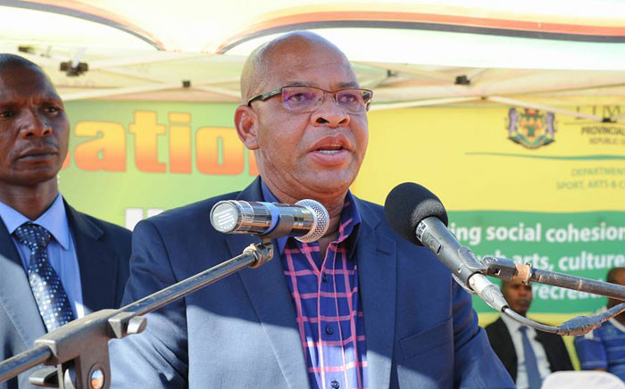 FILE: Limpopo Premier Stanley Mathabatha. Picture: Facebook