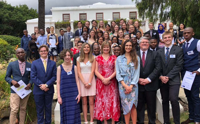The Western Cape Education Department honours top-performing schools and learners at the National Senior Certificate Awards held at Leeuwenhof on 10 January 2019. Picture: @WC_EduMin/Twitter