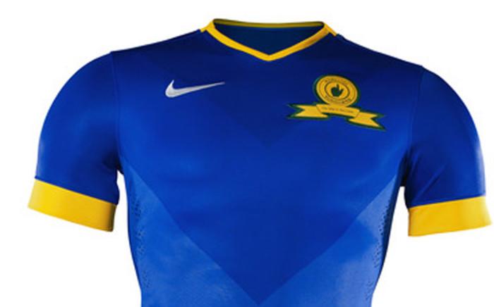 Mamelodi Sundowns new away kit. Picture: Supplied.