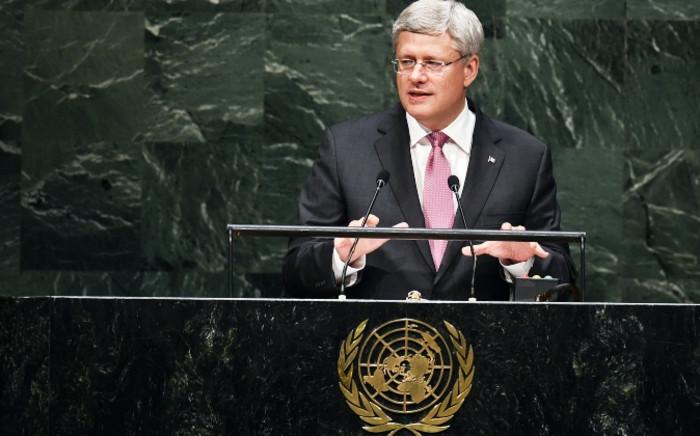 FILE: Canada's Prime Minister Stephen Harper. Picture: AFP.