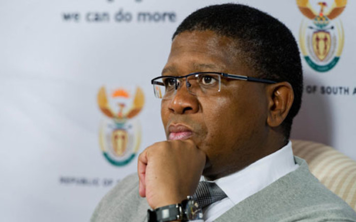 Safa is awaiting on Sport Minister Fikile Mbalula to act against a damning report by FIFA on match-fixing. Picture: EWN.