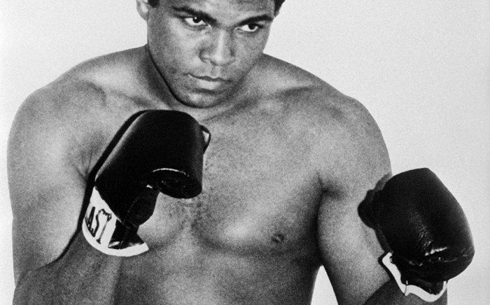 Former world heavyweight champion Muhammad Ali. Picture: AFP.