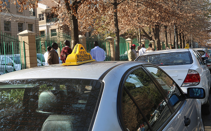 FILE: Johannesburg metered taxi services in Sandton. Picture: EWN.