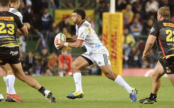 Crusaders' Ryan Crotty runs with the ball during their Super Rugby match against the Stormers at Newlands Stadium, on 18 May 2019, in Cape Town. Picture: AFP