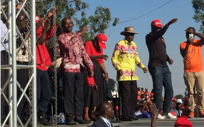 The MDC Alliance held a rally at the Chibuku Stadium in Zengeza about 30 kilometres outside Harare. Picture: EWN