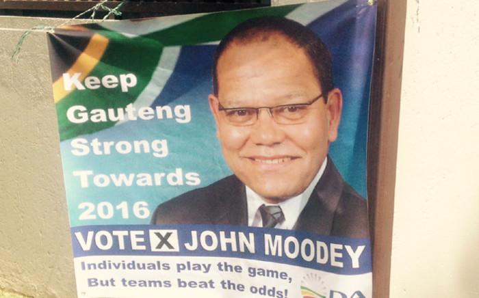 DA Gauteng leader John Moodey. Picture: Govan Whittles/EWN.