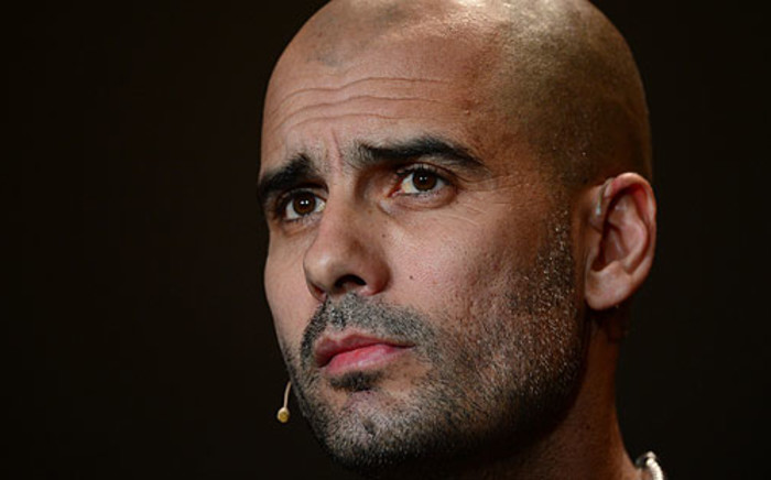 Pep Guardiola has signed a 3-year deal to be the head coach of Bayern Munich. Picture: AFP