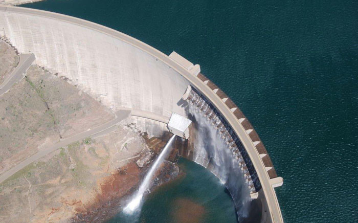 FILE: An aerial view of a dam from phase 1 of the Lesotho Highlands Water Project. Picture: http://www.lhda.org.ls/