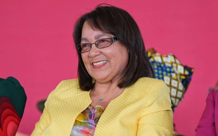 file: Cape Town Mayor Patricia de Lille arrives at the memorial service for Winnie Madikizela-Mandela held by the EFF in Brandfort. Picture: Christa Eybers/EWN
