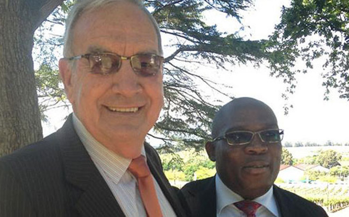 Human Settlements MEC Bonginkosi Madikizela & Agriculture MEC Gerrit van Rensburg at a farmworker housing dialogue in Stellenbosch on 16 October 2012. Picture: Giovanna Gerbi/EWN