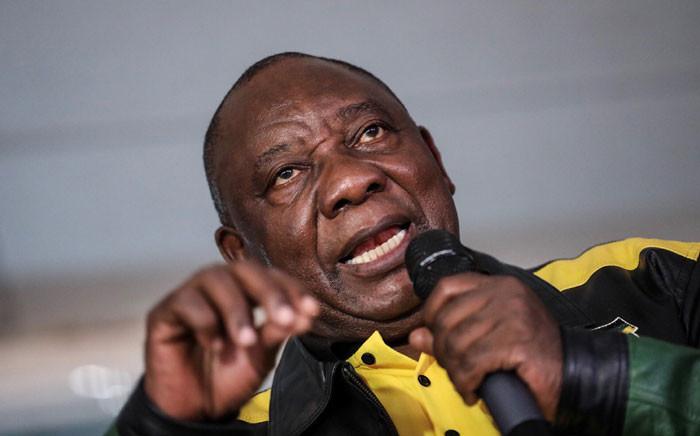 FILE: ANC president Cyril Ramaphosa. Picture: Abigail Javier/EWN