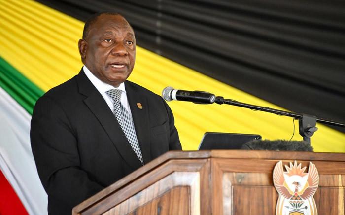 FILE: Cyril Ramaphosa. Picture: Presidency/ZA/Twitter