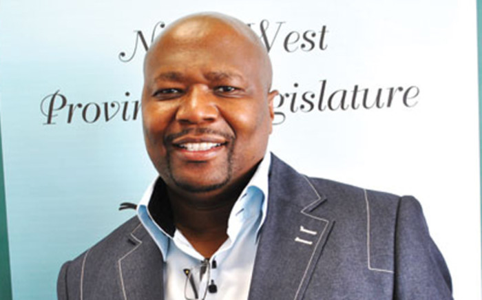 North West Local Government MEC China Dodovu says the party must come clean on whether he's been suspended from its PEC. Picture: SAPA