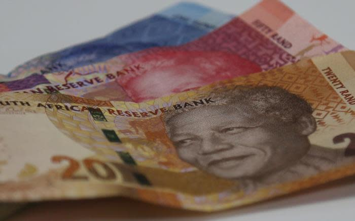 By 1408 GMT, the rand was trading at 14.5200 versus the dollar. Picture:Christa Eybers/EWN
