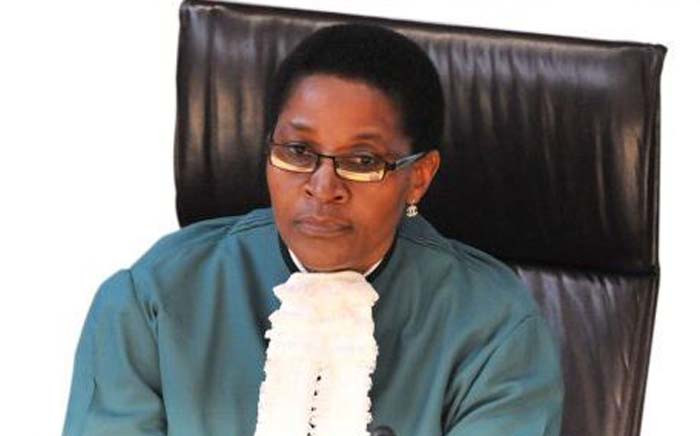 FILE: Constitutional Court judge, acting Chief Justice Bess Nkabinde. Picture: Twitter/@NWUPotch