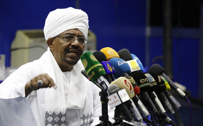 FILE: Sudanese President Omar al-Bashir. Picture: AFP.