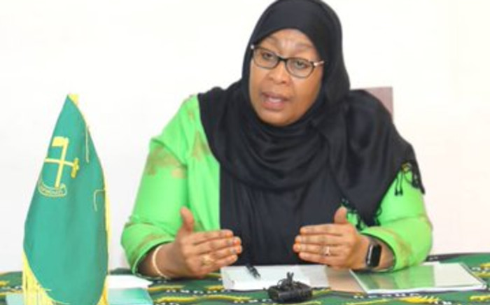 FILE: Samia Suluhu Hassan became first female President of Tanzania when she was sworn in on Friday,  19 March 2021, following the death of John Magufuli. Picture: Twitter/@SuluhuSamia ·