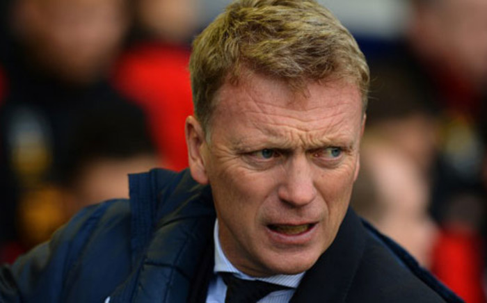 David Moyes. Picture: AFP.