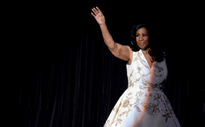 Aretha Franklin performs onstage during the 'Clive Davis: The Soundtrack of Our Lives' Premiere Concert during the 2017 Tribeca Film Festival at Radio City Music Hall on 19 April 2017 in New York City. Picture: Getty Images/AFP.