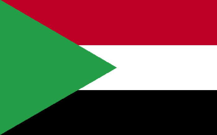 FILE: Sudan flag. Picture: Wikicommons.