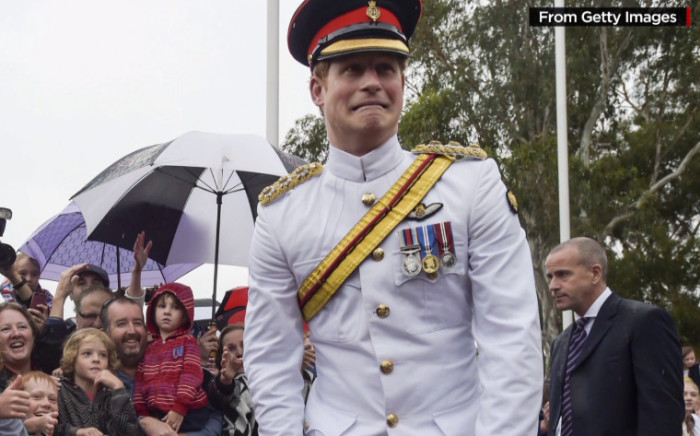 Prince Harry says no to selfies.  Picture: CNN