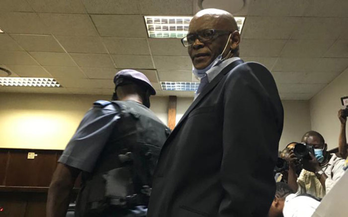 FILE: ANC secretary-general Ace Magashule appearing at the Bloemfontein Magistrates Court on 13 November 2020. Picture: NPA
