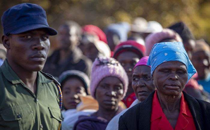 FILE: Zimbabweans wait to vote in the 2018 general elections. Picture: Thomas Holder/EWN