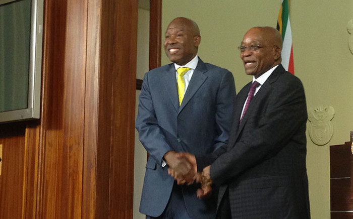 President Jacob Zuma has announced the appointment of Lesetja Kganyago as Reserve Bank Governor. Picture: Reinart Toerien/EWN.