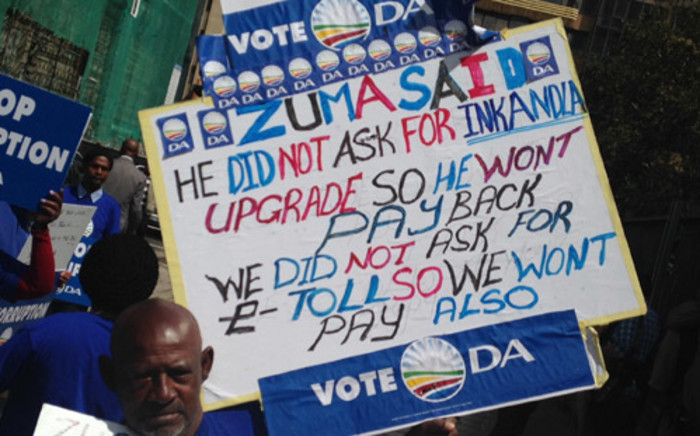 FILE: The ConCourt ruled in favour of the DA in the Nkandla SMS debacle. Picture: Reinart Toerien/EWN.