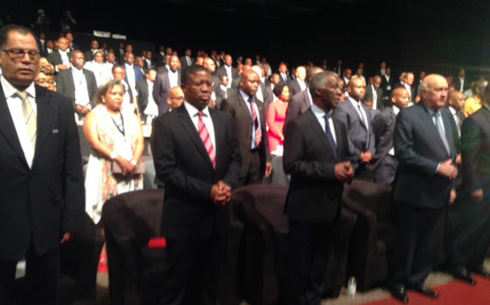 South African Football Association (Safa)'s annual congress at the Sandton Convention Centre on 11 October 2014. Picture: Vumani Mkhize/EWN.