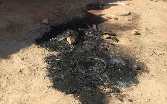FILE: A man was set alight on the night of 10 June 2019 in mob justice attack by Alexandra residents. He was accused of robbing and raping women. Picture: Edwin Ntshidi/EWN.
